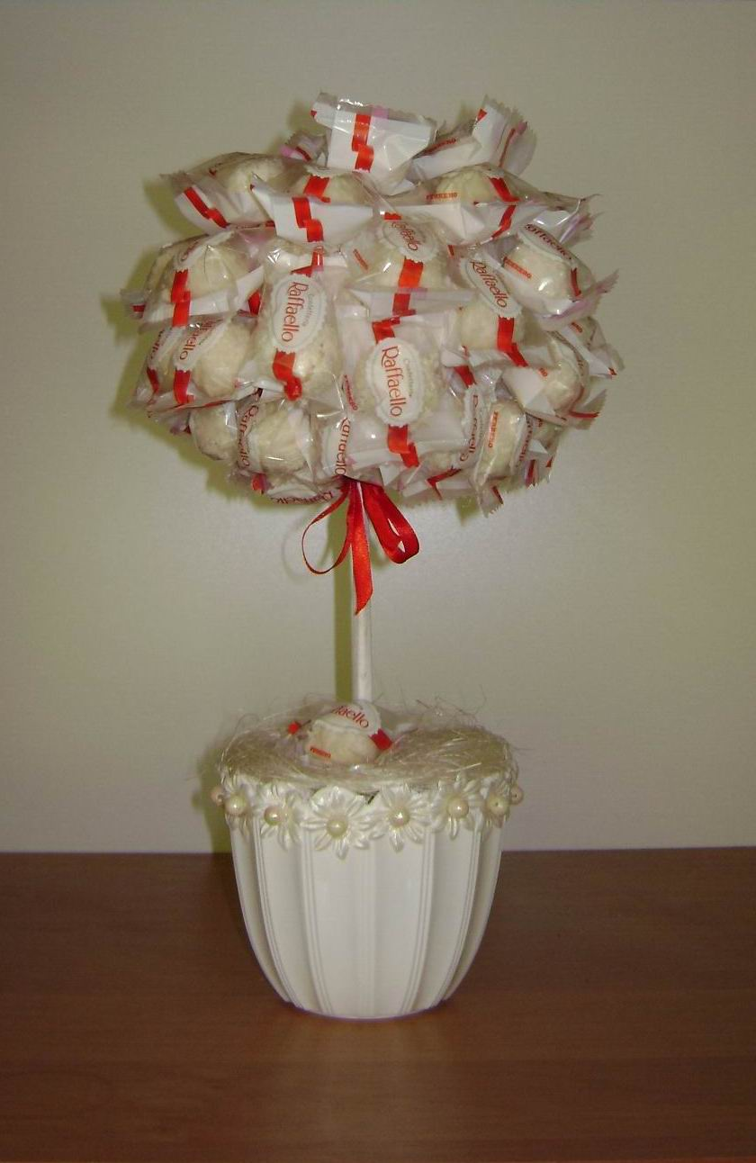 Букеты из конфет своими руками из рафаэлло